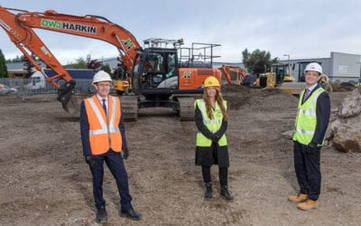 Mayor visits Warmflame Developments Cakemore Road site
